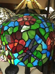 Stained Glass Lamps at Stratford Antique Warehouse
