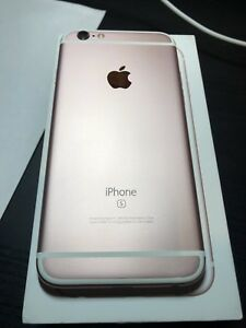 iPhone 6s 16gb unlocked Rose Gold