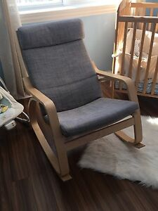 Chaise berceuse poang ikea