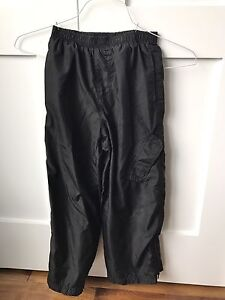 Boys black splash pants size 6