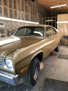 1973 Plymouth Gold Duster