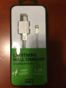 USB lighting wall Charger