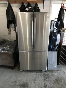 GE Profile stainless fridge