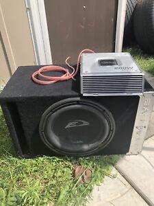 Sub + ampli 200W