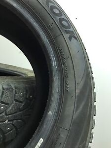 Jetta Winter tires Almost Brand new less than 1000 KMS