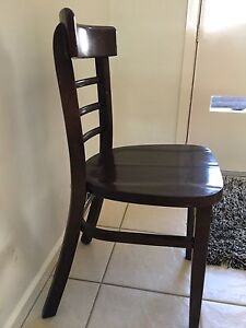wooden chairs 5 00 two wooden chairs as in pics 5 each pick up