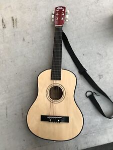 Power Play small acoustic guitar
