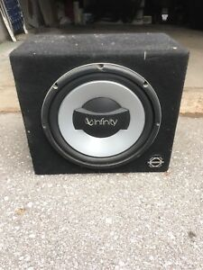 12 inch Infinity subwoofer