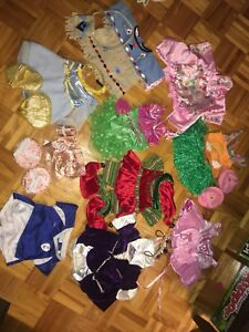Lot de vêtements pour ourson Build-a-Bear (négociable)