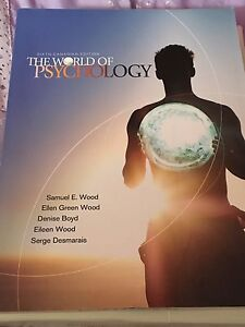 The world of psychology 6th Canadian edition