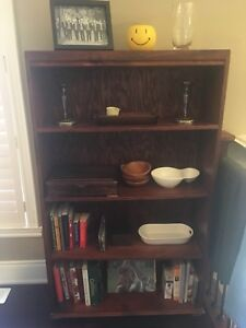 Dark Wood Bookcase/Shelf