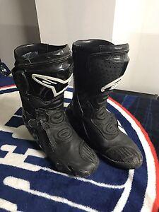Alpinestars SMX Racing Boots Size 9.5 Mens