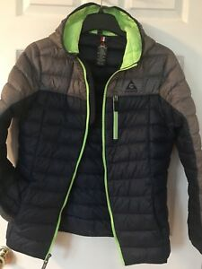 Down filled boys winter jacket