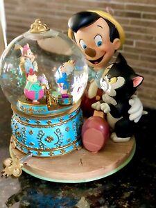 Disney Pinocchio Musical Snow Globe