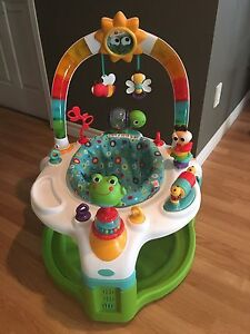2-in-1 Saucer and Play Mat