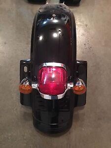 Harley Rear fender and light