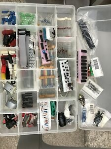 Resistor, capacitor, chips, electronic, axiom board, relays