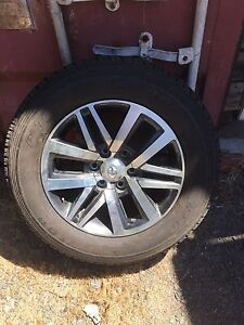 2016 Hilux Sr5 wheels. 18 inch  With tyres. Spreyton Devonport Area Preview