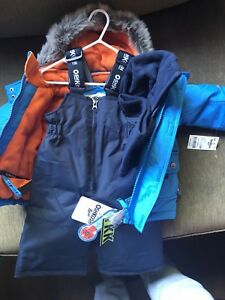 Brand new with tags Oshkosh size 12 month snow suit set