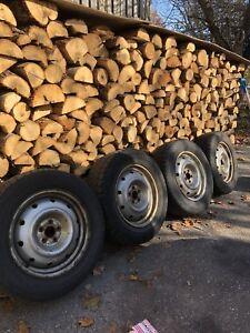 215/65r16 winter tires on Subaru rims