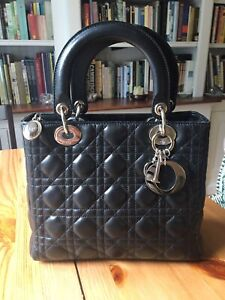 Authentic Lady Dior in perfect condition