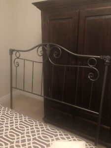 Queen Wrought Iron Headboard