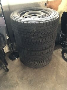 Gently used winter tires for sale