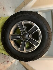 255/70/18 Tires and Rims set of 5