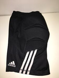Adidas Youth Boys Soccer Goalie Shorts - size small