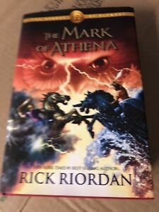 Mark of Athena & Hunger games trilogy Books