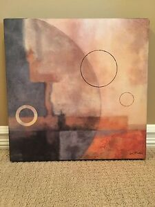 Canvas wrapped art