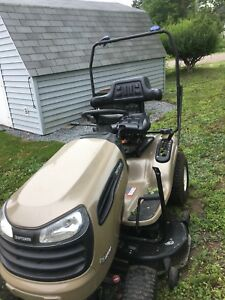 Craftsman lawn mower with full snow blower attachment