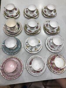 Royal Albert beautiful tea cup and saucer sets