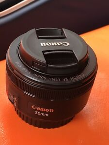 Objectif canon 1.8 50mm