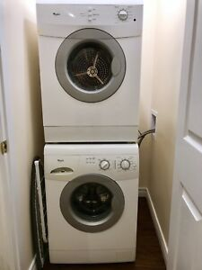 Apartment size Whirlpool Washer and Dryer set