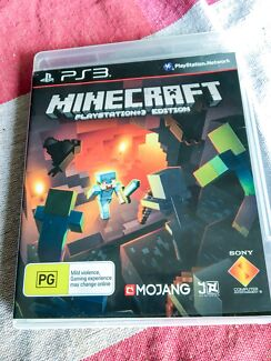 Minecraft PS3 (PG) as new