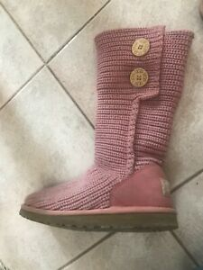 Authentic Baby Pink Uggs