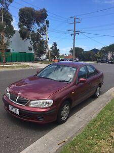 Nissan pulsar 2000 4 cylinder 1.8 LT{{ CURRENT RWC + REGISTRATION}} East Melbourne Melbourne City Preview