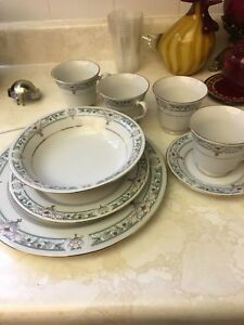 Dinnerware sets and cutlery