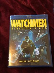 Blue ray watchmen new sealed