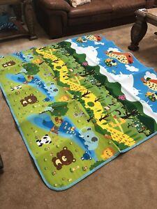 Exerciseur et tapis de jeu pour bébé / baby mat
