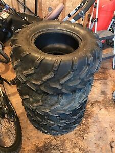 CanAm Outlander G2 take off tires
