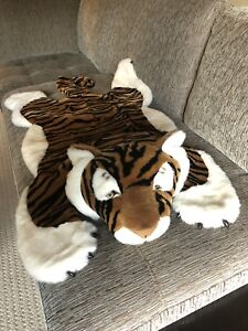 NEW Children's Plush Tiger Rug - One-Of-A-Kind!