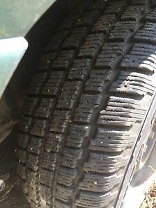 215/65R15 Winter Tires & rims