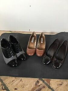 shoes - 3 pairs for $25