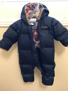 Columbia Snuggly Bunny Infant Snow Suit - like New