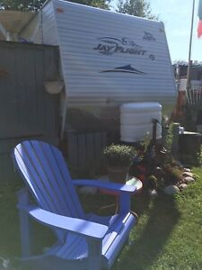 Jay Flight for sale plus lot in Hubbards beach campground