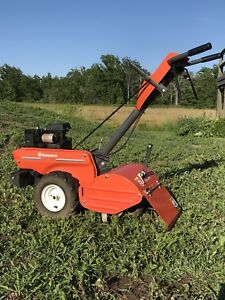 Husqvarna CRT35 Rear Tine Rototiller. Low Hours!
