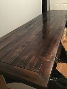 Spruce/Pine/Cedar stained table tops