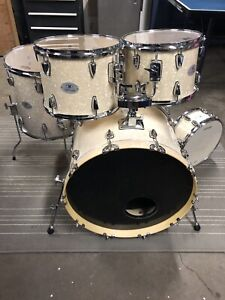 Stagg 5PC Drum Shells: Brand New Heads!